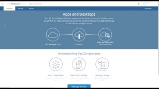 Demo: Citrix Cloud XenApp and XenDesktop Service