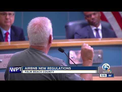 AirBnb New Regulations In Palm Beach County