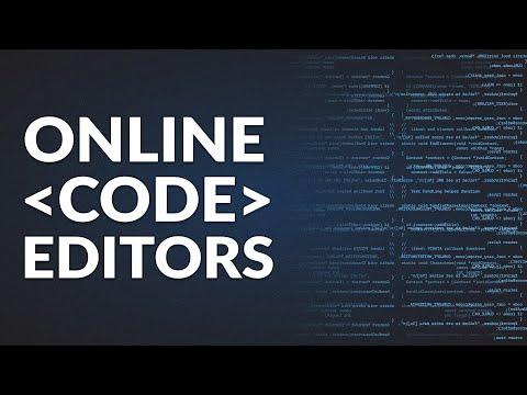 7 Best Browser-based, Online Code Editors for Web Developers