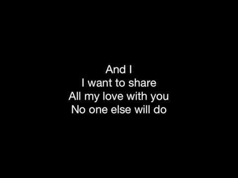 Endless Love (Lionel Richie) – HD With Lyrics! By: Chris Landmark