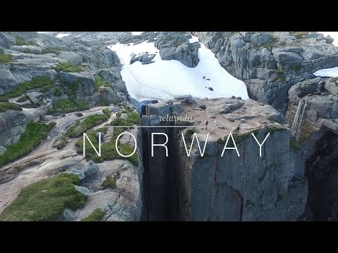 Return to Norway ; trip through the south of Norway