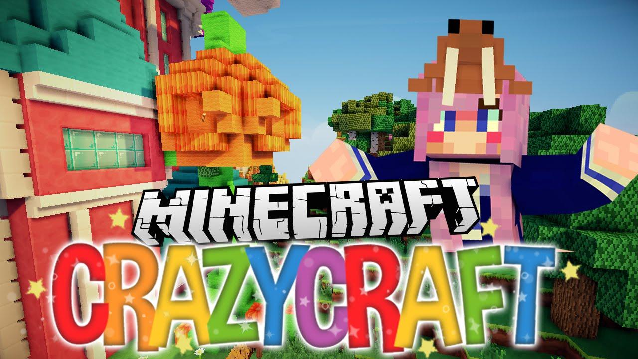 Halloween trick or treat pranks ep 12 minecraft crazy for Crazy craft 3 0 server