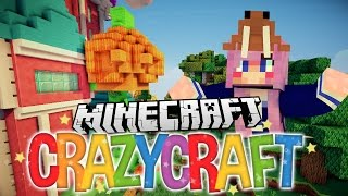 Halloween Trick or Treat Pranks | Ep 12 | Minecraft Crazy Craft 3.0