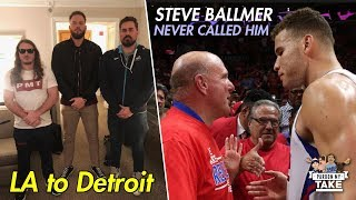The REAL story of Blake Griffin Blowing off Steve Ballmer