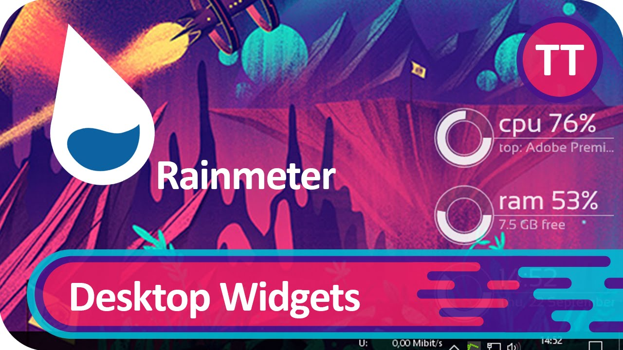 Rainmeter | Widgets auf dem Desktop | Tutorial [GER]