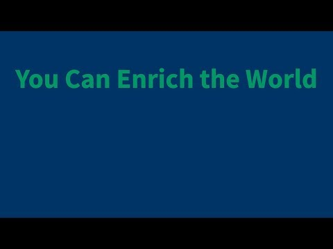 Robert David Jaffee: You Can Enrich the World