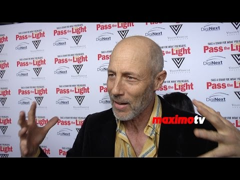 Jon Gries   Pass the Light Premiere  Red Carpet
