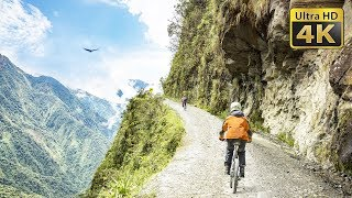 biking-in-the-bolivia-39-s-death-road-yungas-road