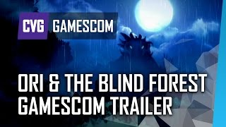 Ori and the Blind Forest Gameplay Trailer Gamescom 2014