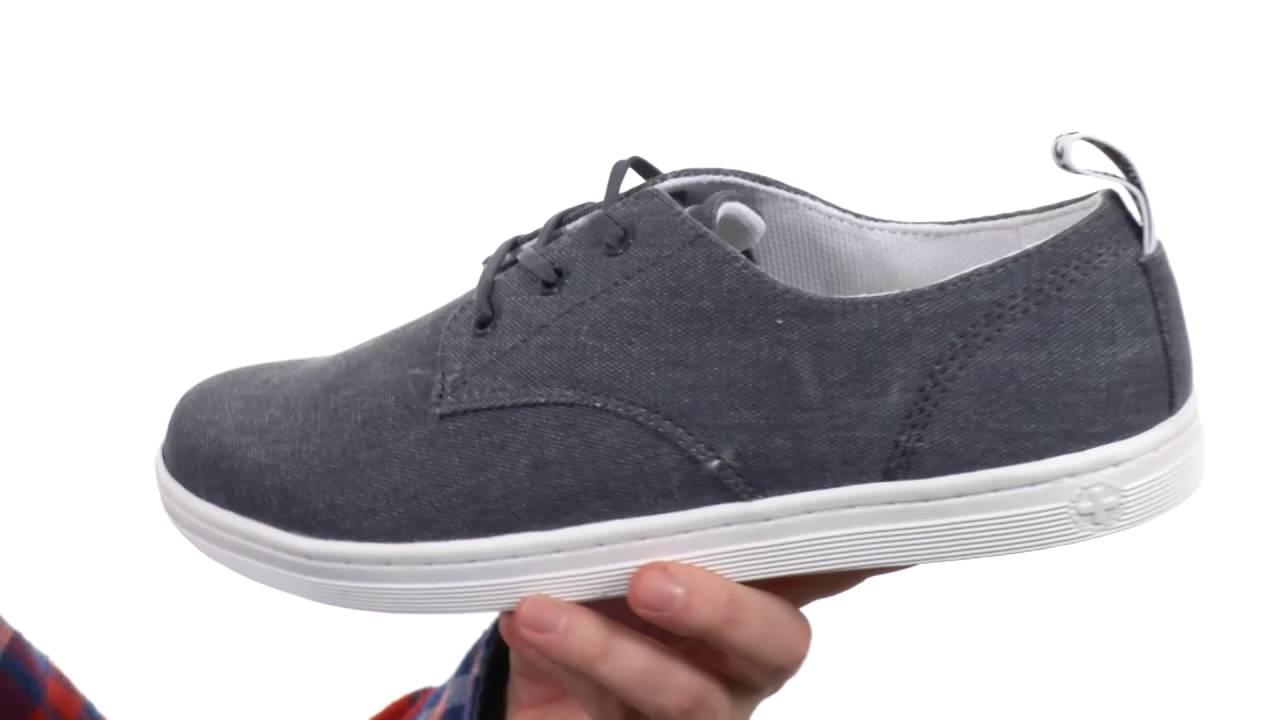 bfda3286209 Dr. Martens Callum 3-Eye Shoe SKU 8728748 - YouTube