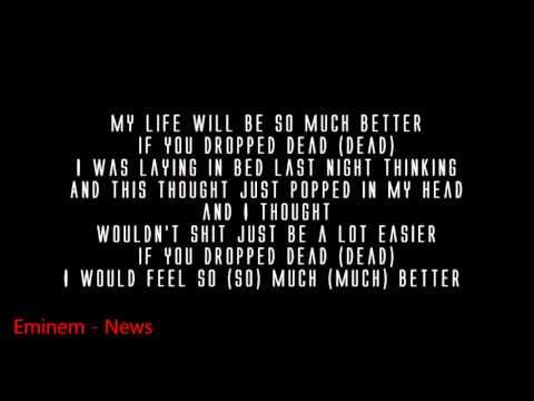 Eminem - So Much Better ( Lyrics ) MMLP2