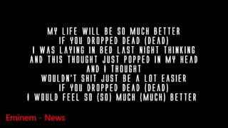 Eminem - So Much Better ( Lyrics ) MMLP2