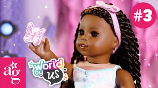 """Makena's """"See Me! Hear Me! Know Me!"""" Fashion Show!   WORLD BY US Episode 3   @American Girl"""
