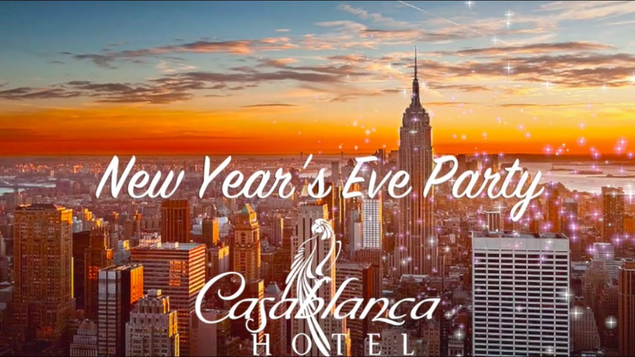 New Year S Eve At Casablanca Hotel Times Square Youtube
