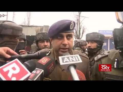 Pulwama Attack | We are going to carry out a post-blast investigation:  IGP Kashmir, CRPF, S.P. Pani