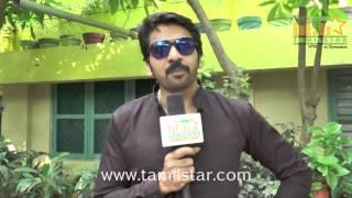 Ganesh Prasad At Karaiyoram Movie Team Interview