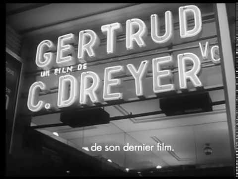 Carl Th. Dreyer (1966) - Jørgen Roos  [Extrait]