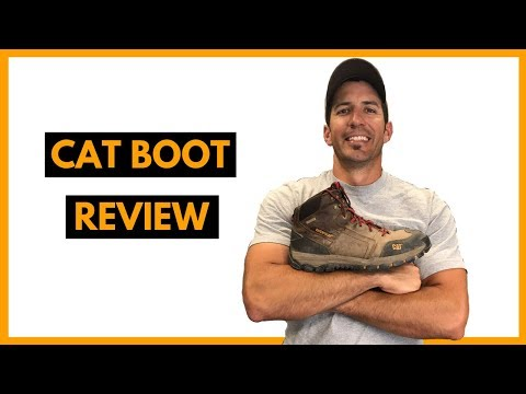 CAT Boot Review - Caterpillar Navigator
