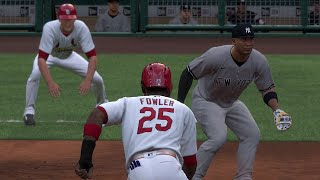 MLB Today 7/17 - New York Yankees vs St Louis Cardinals Full Game Highlights (MLB The Show 20)