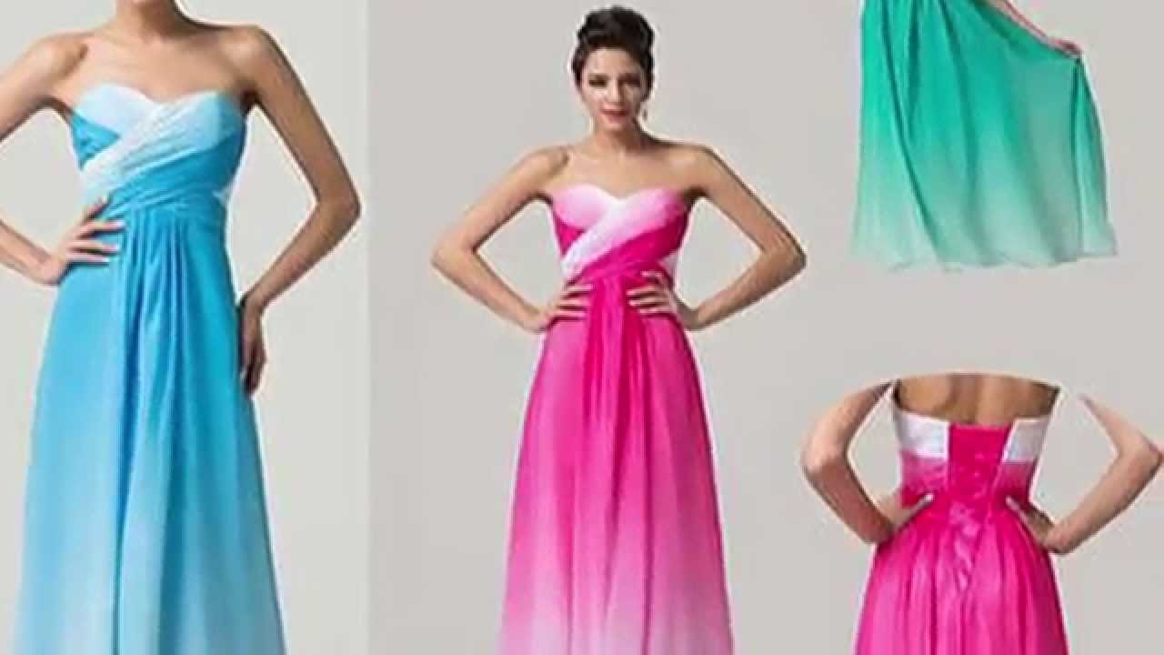 Year 12 Formalwear - Formal Dresses! - YouTube