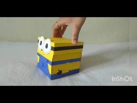 DIY: Craft idea    Minion Explosion Box