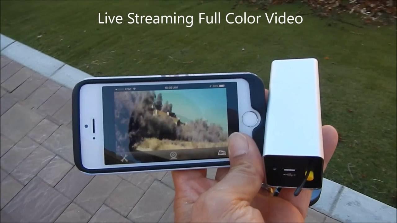 Portable iPhone Android iPad WIFI car backup camera