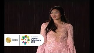 Download lagu Isyana Sarasvati - Asia's Who We Are | Closing Ceremony Asian Games 2018