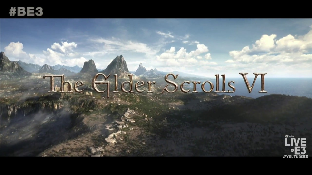 Starfield and The Elder Scrolls 6 Announcement and Teaser Trailer - Bethesda E3 2018