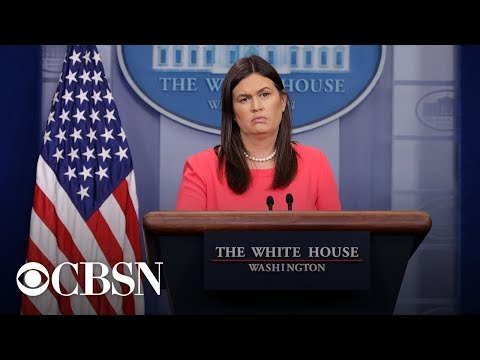 Full White House Press Briefing with Sarah Sanders amid government shutdown | December 18, 2018