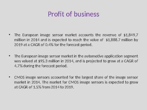 Europe Image Sensor Market 1