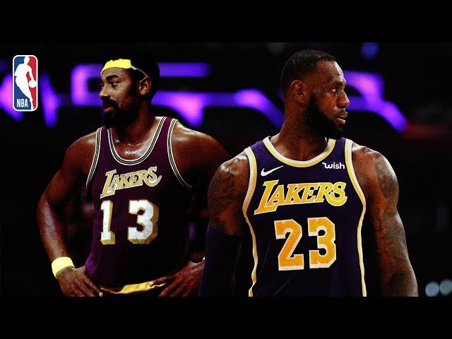 d0b7bc3a6 LOOK  Milestone baskets in LeBron James  career