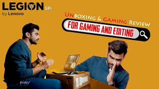 LEGION 5Pi Unboxing & Gaming Review |  Maza Aa Gaya