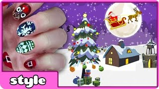 Diy Christmas Nail Art Collection 2014 | Cute Holiday Nail Art Designs For Kids