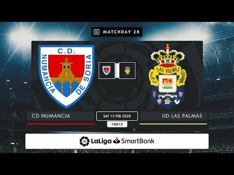 CD Numancia - UD Las Palmas MD28 S1815