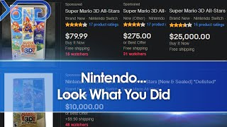 Scalpers Already Selling Super Mario 3D All Stars At Marked Up Prices After Nintendo Delists Game