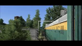 RailWorks Train Simulator - ТЭМ2 в Воинской Части на ст. Крахаль