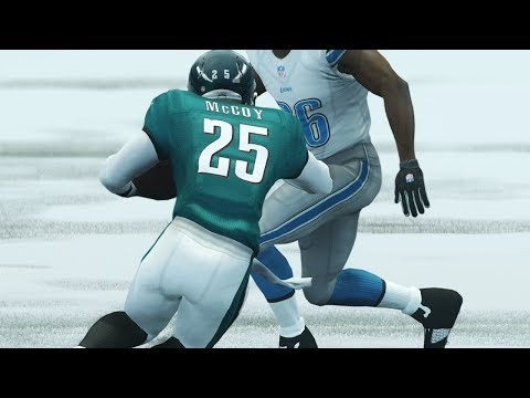 Lesean McCoy and Megatron Get Into Epic Shootout in Wild Week of NFL Football (Lions vs Eagles)