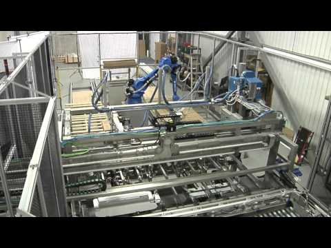 Consolidated Technologies: All-in-One Robotic Cartoner & Palletizer for Baseboard Heaters