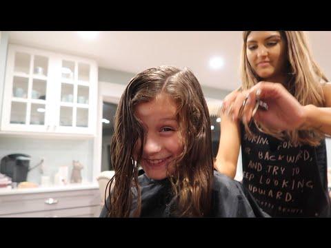 Getting Her Hair Chopped Off (WK 296.3) | Bratayley