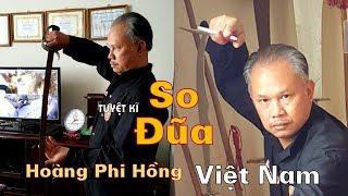 Cao thủ võ Việt sở hữu Tuyệt kĩ SO ĐŨA và trận tỉ thí rúng động Hà Nội