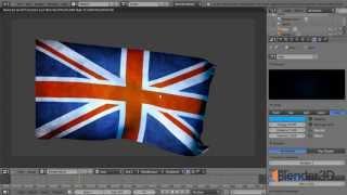Создание развевающегося флага на ветру