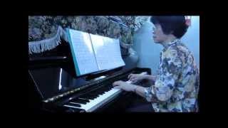 Mùa Xuân làng lúa làng hoa-Độc tấu piano Lan Anh