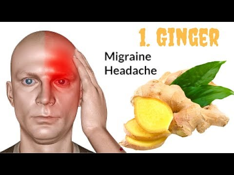 How To Get Rid Of A Headache & Migraine With Ginger - Clickbank Review