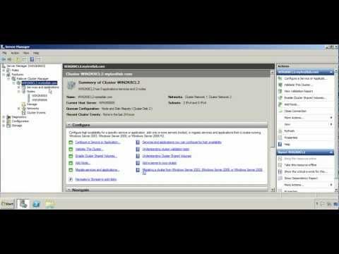 17  Windows Server 2008 R2 Cluster MSDTC
