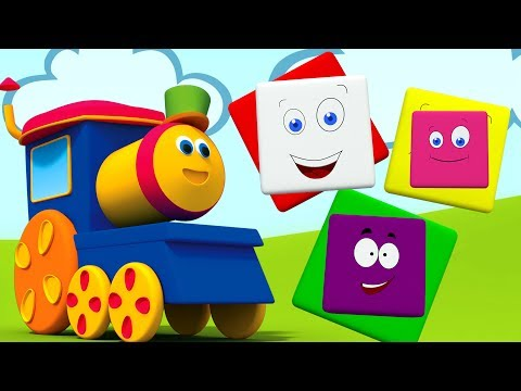 Bob el tren | Videos para niños | Aprender colores | Bob Train Color Ride | Educational Video
