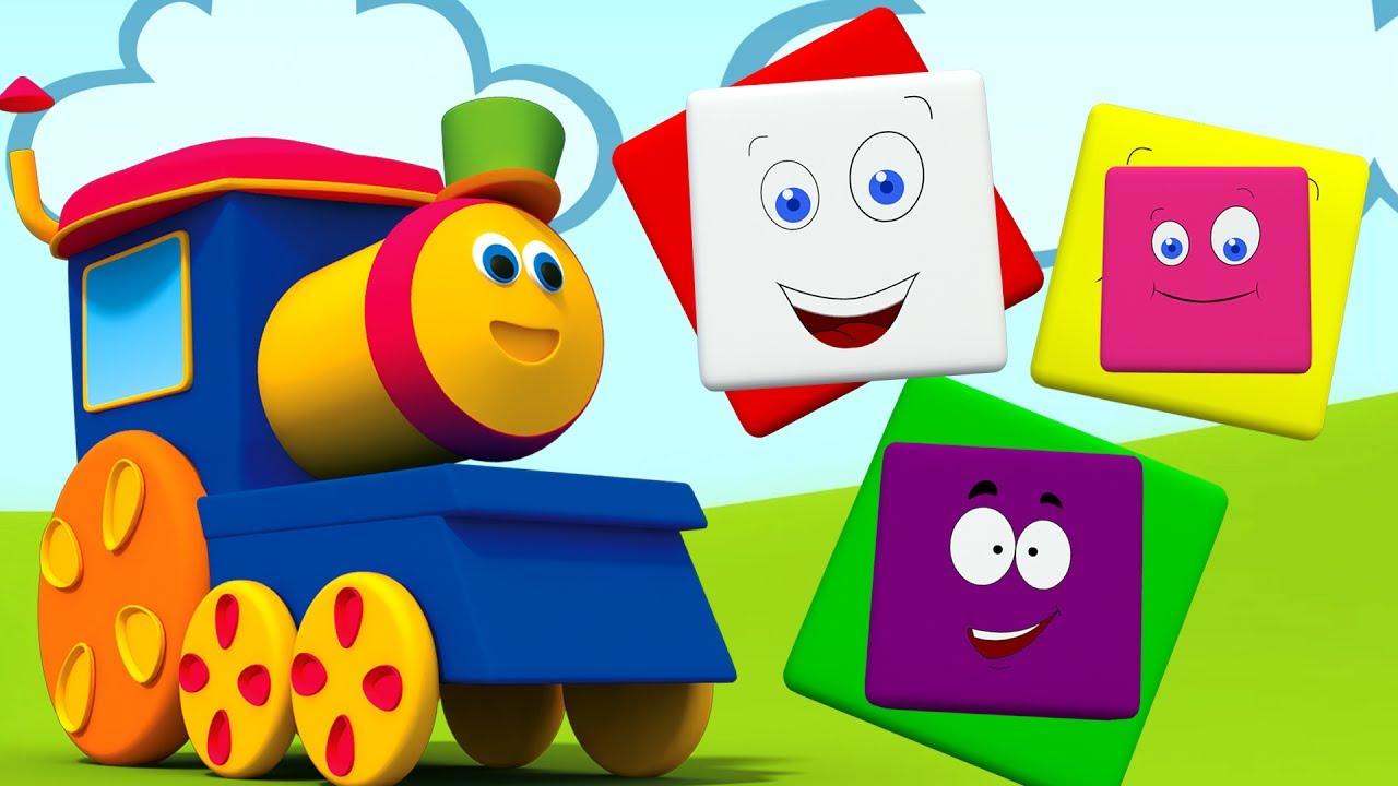 Bob El Tren Videos Para Ninos Aprender Colores Bob Train