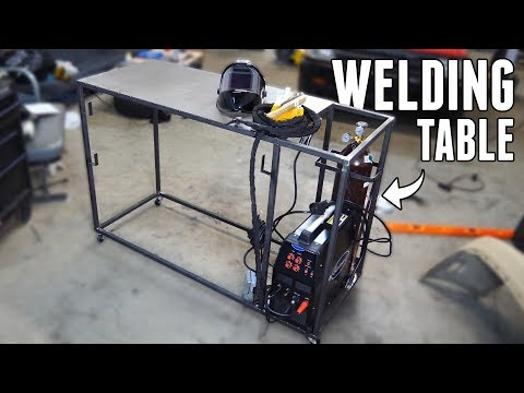 Building a DIY Welding Table/Kart for $200!