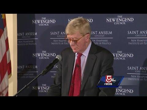 Bill Weld calls Trump 'unstable'