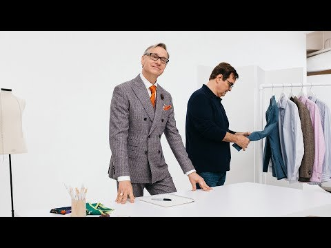 How to Fold a Pocket Square with Paul Feig | J.Crew