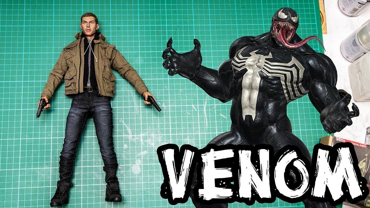 ชุดผ้า Tom Hardy 1/6 พระเอกจากหนัง VENOM ( เวน่อม) Review ...